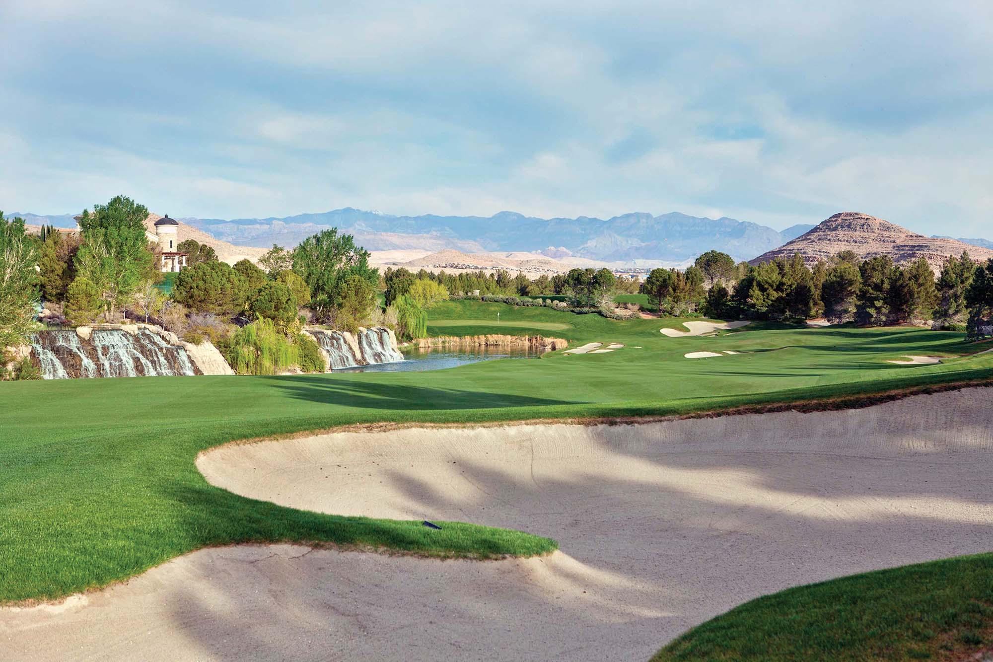 Southern Highlands Golf Club's third hole