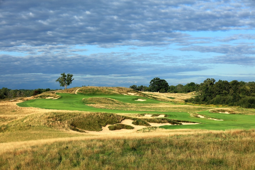 US Open-Erin Hills-14th hole