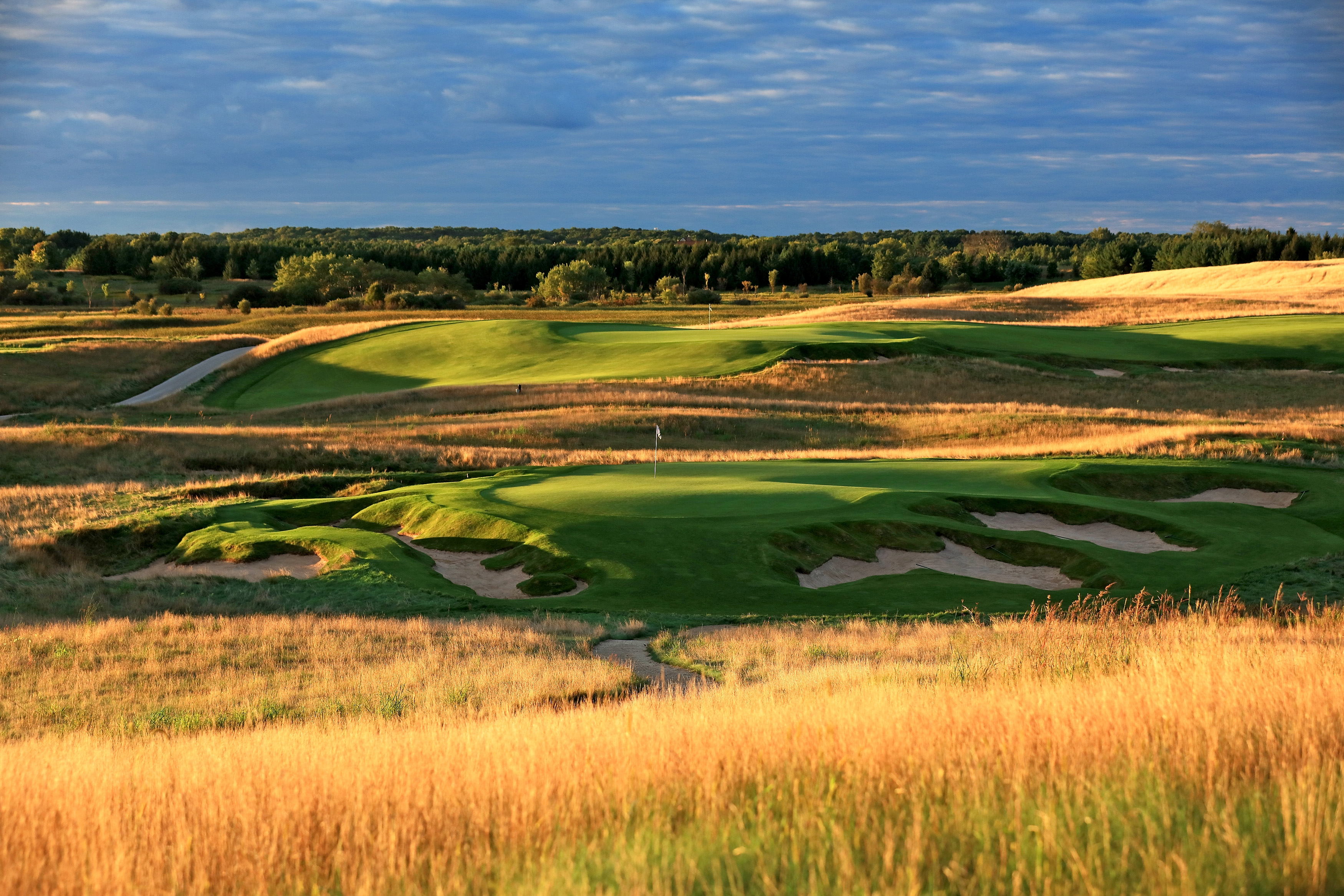 Erin Hills-US Open-9th hole