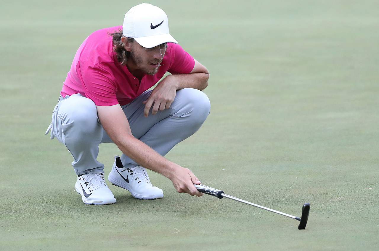 Tommy Fleetwood's Odyssey putter
