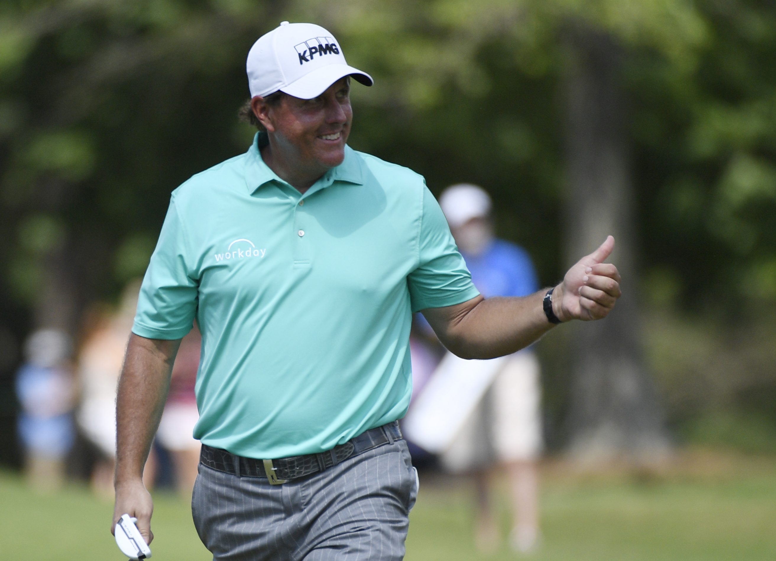 Phil Mickelson-Greenbrier Open