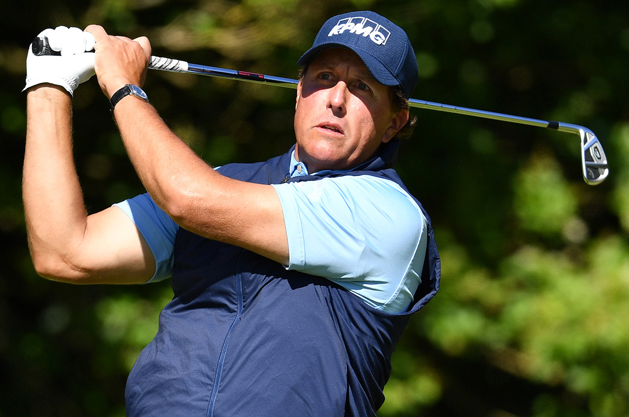 Phil Mickelson Callaway irons