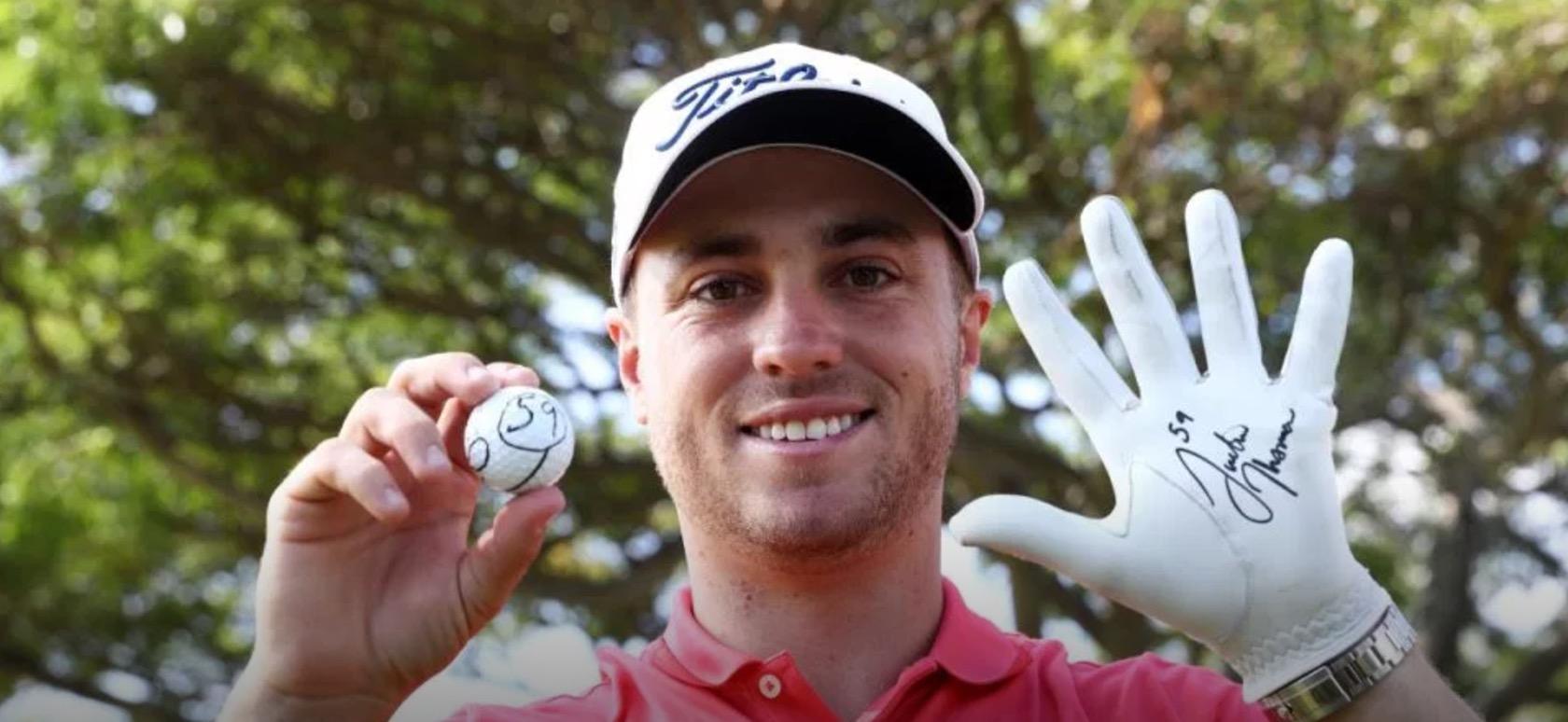 Justin Thomas PGA Championship 59 Sony Open
