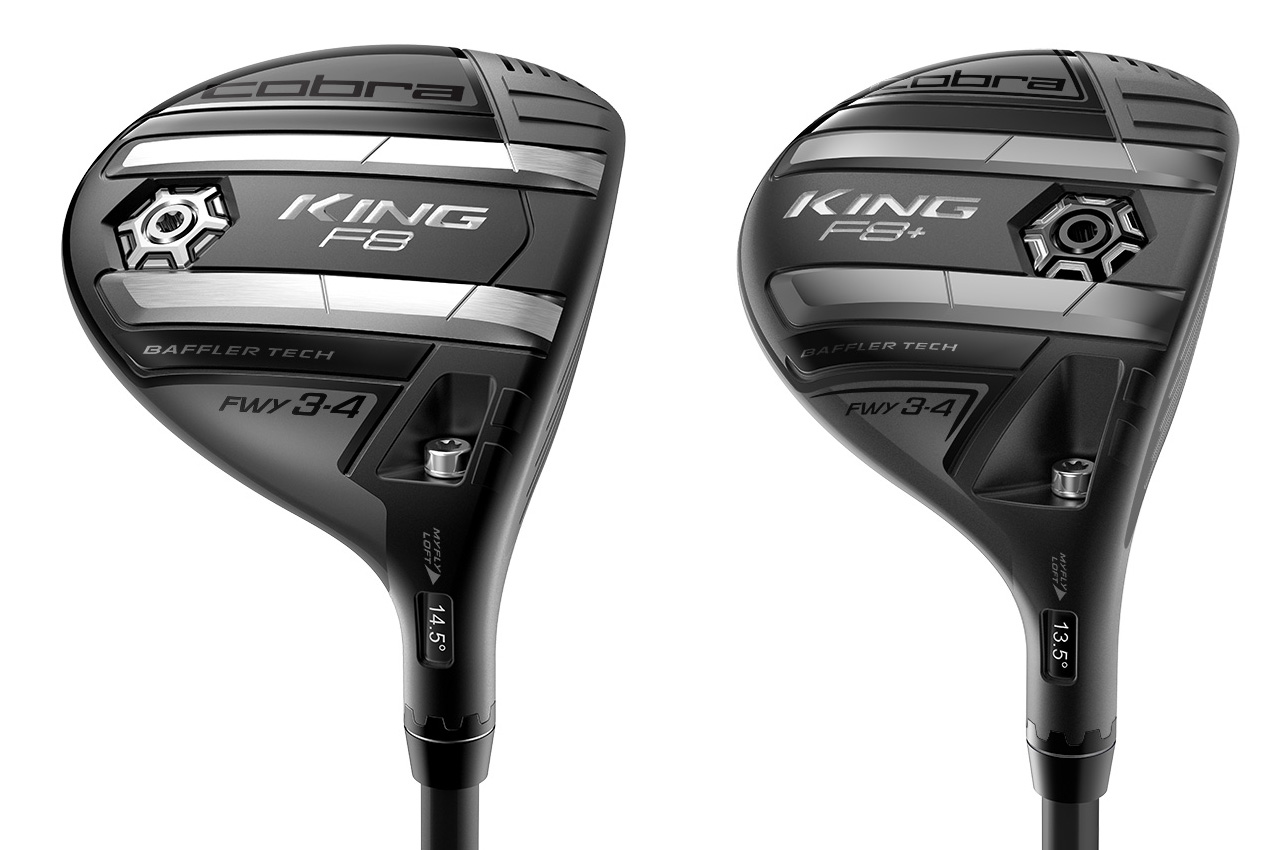 Cobra King F8 fairway woods