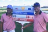 Kevin Chappell and Charley Hoffman