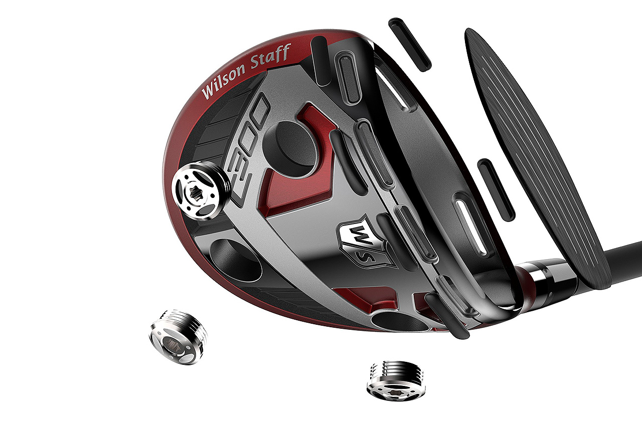 Wilson Staff C300 fairway woods