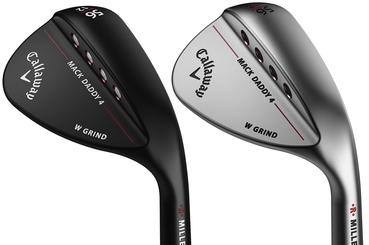 Callaway Mack Daddy 4 W Grind Wedges