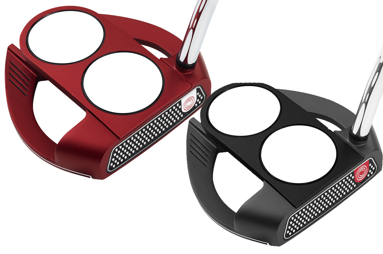 Odyssey O-Works Red and Black putters