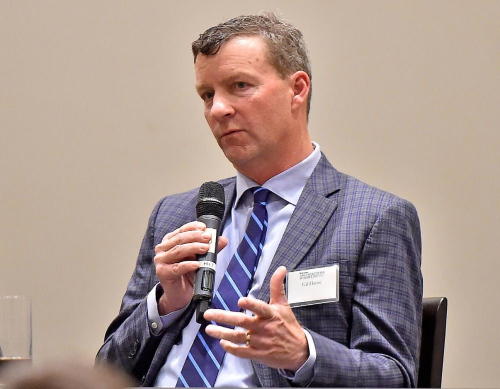 Golf course architect Gil Hanse spoke at the 5th Annual Golfweek Architecture Summit.