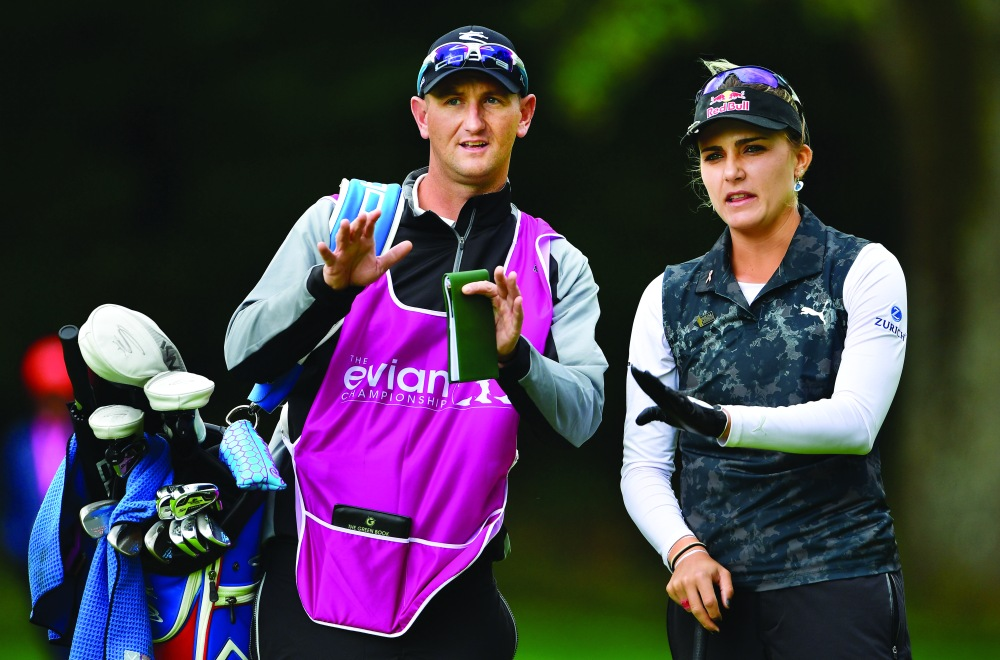 Thompson's hiring of caddie Kevin McAlpine has helped the young star's maturity and ownership of her decisions.