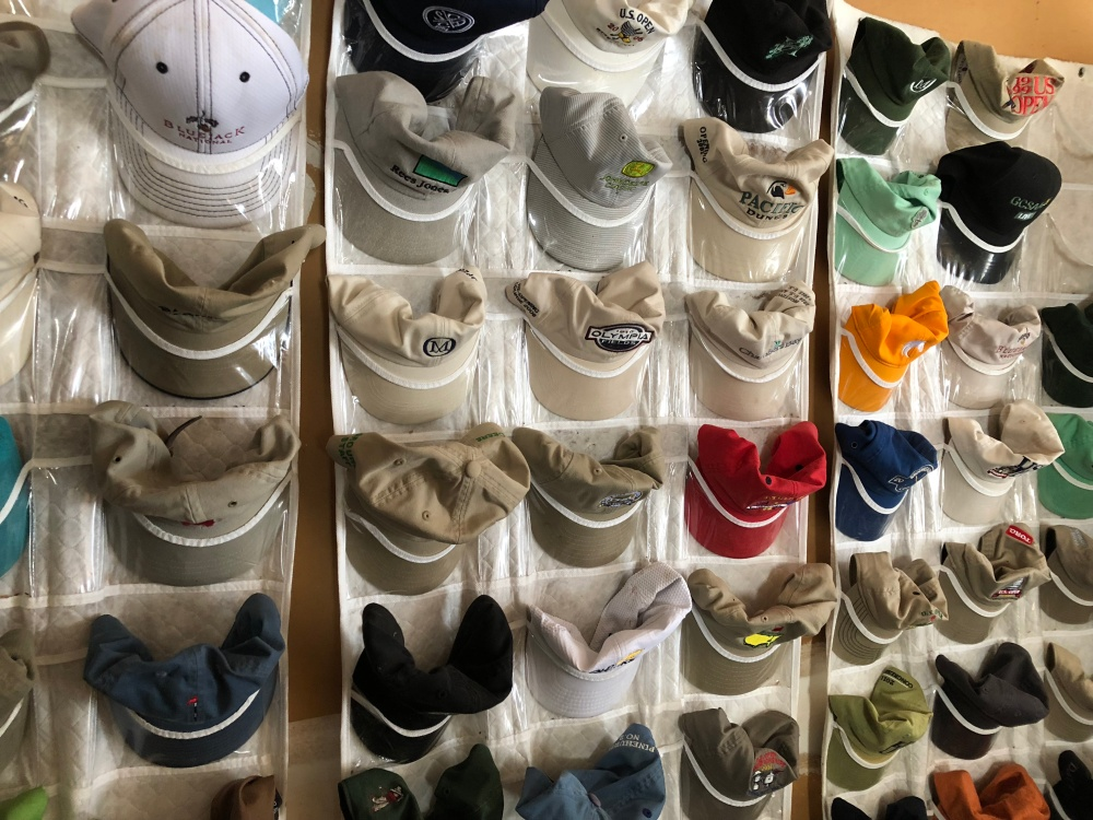 Golfweek's Bradley Klein has been amassing golf hats for 50 years.