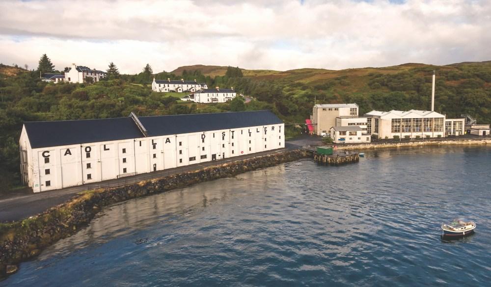 Caol Ila Distillery on Islay, Scotland