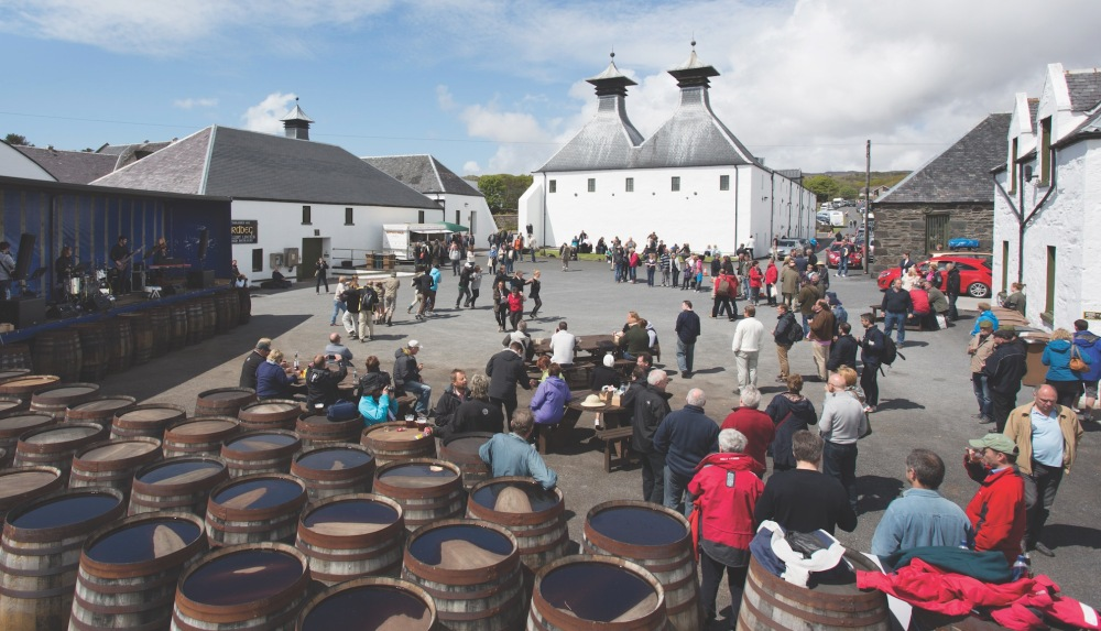 Islay Festival of Music and Malt at the Ardbeg Distillery