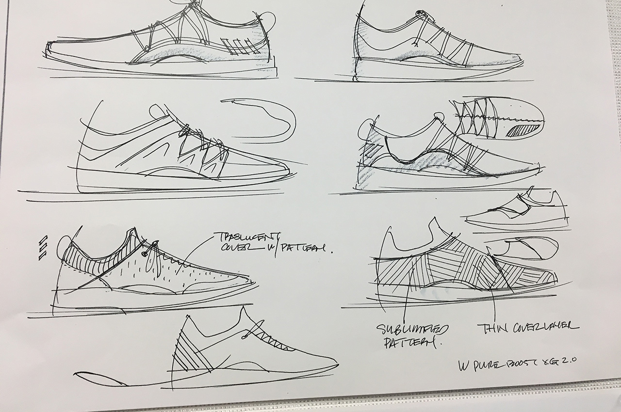 Adidas-Women's-Shoe-Sketchs