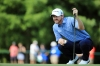 NORTON, MA - SEPTEMBER 04: Jimmy Walker lines up a putt on the second green during the third round of the Deutsche Bank Championship at TPC Boston on September 4, 2016 in Norton, Massachusetts. (Photo by Maddie Meyer/Getty Images)