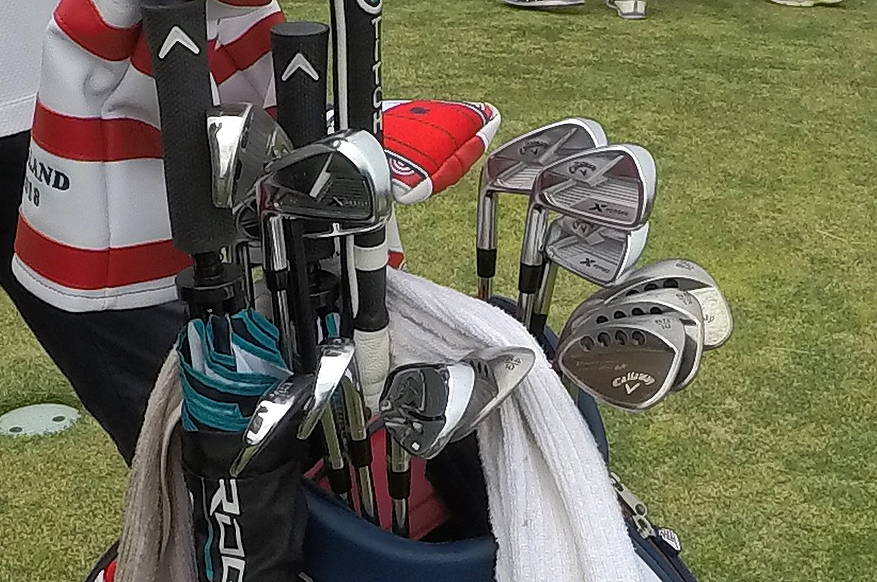 Phil Mickelson's Callaway irons