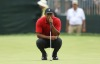 Jun 3, 2018; Dublin, OH, USA; Tiger Woods on the seventh green during the final round of The Memorial golf tournament at Muirfield Village Golf Club. Mandatory Credit: Aaron Doster-USA TODAY Sports