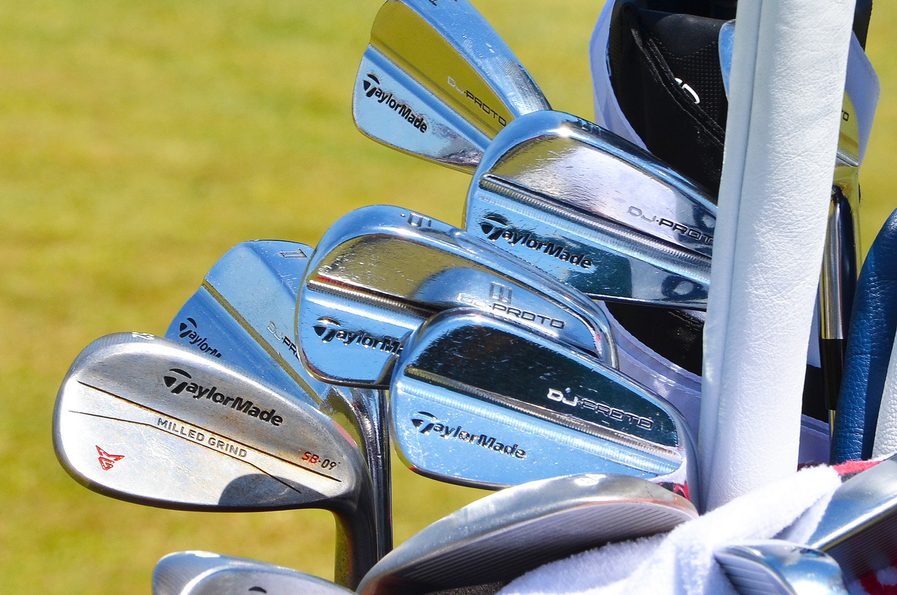 Dustin Johnson's TaylorMade equipment