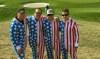 Left to right: Ryan Surmay, Doug Bashar, Mark Cherry and Darin Clark at the Ryder Cup (Beth Ann Nichols/Golfweek)
