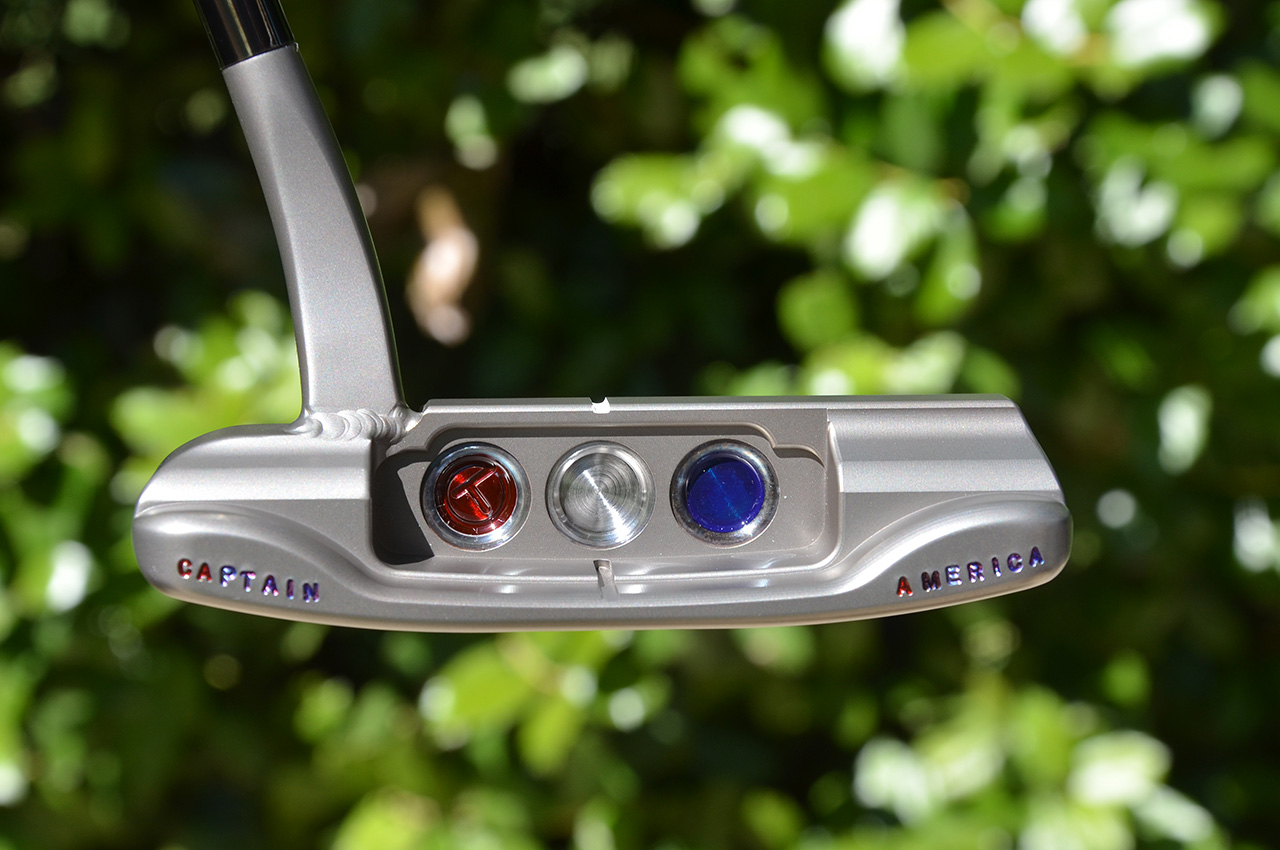 Patrick Reed's Scotty Cameron Tour Rat I putter