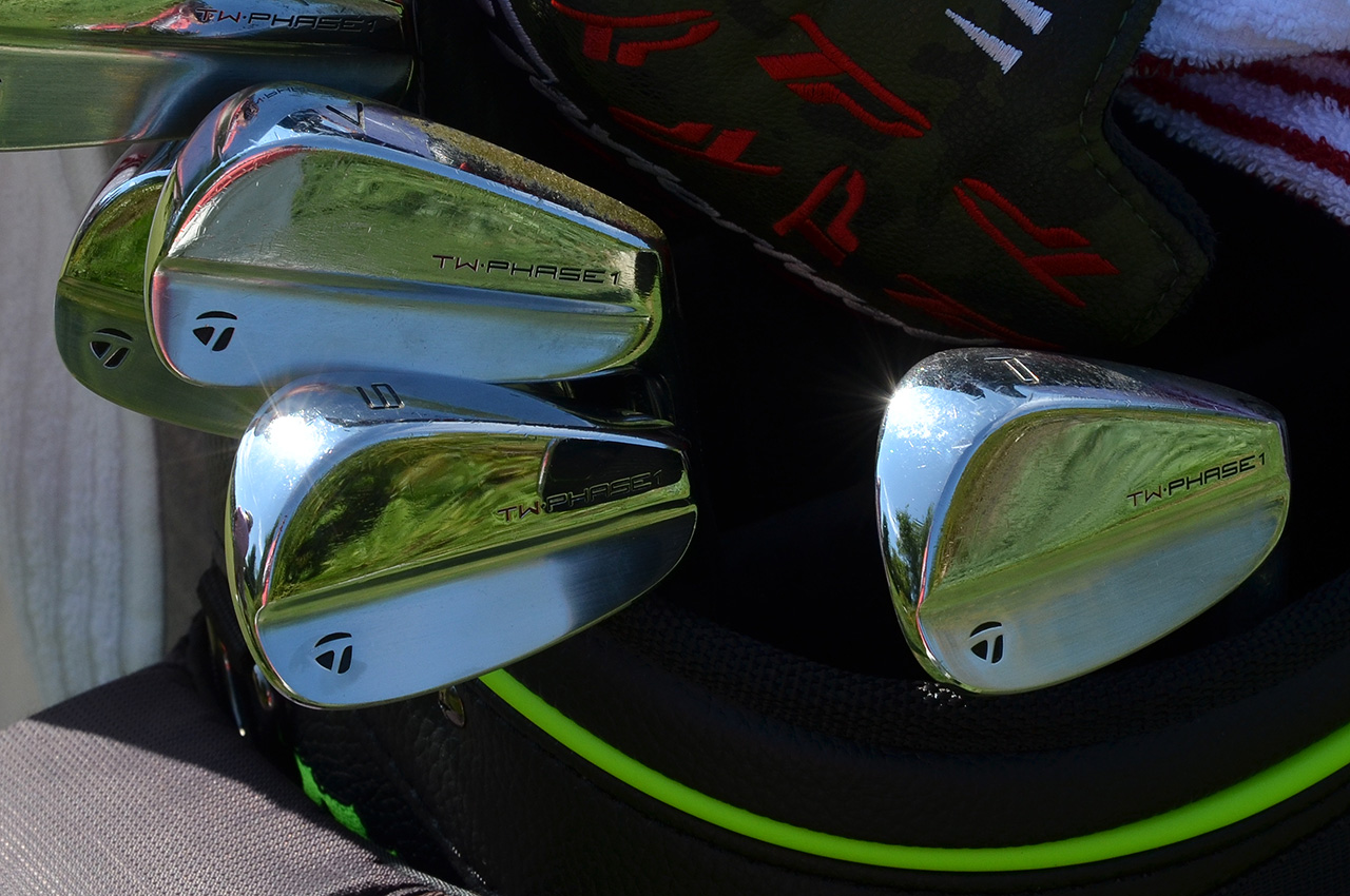 Tiger Woods' TaylorMade irons