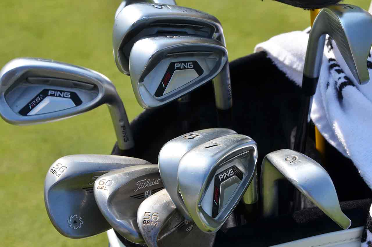 Stewart Cink's Ping i25 irons