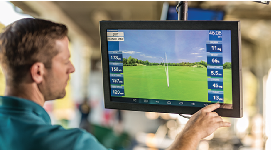 Golf technology is now being marketed directly to the consumer. (TrackMan)