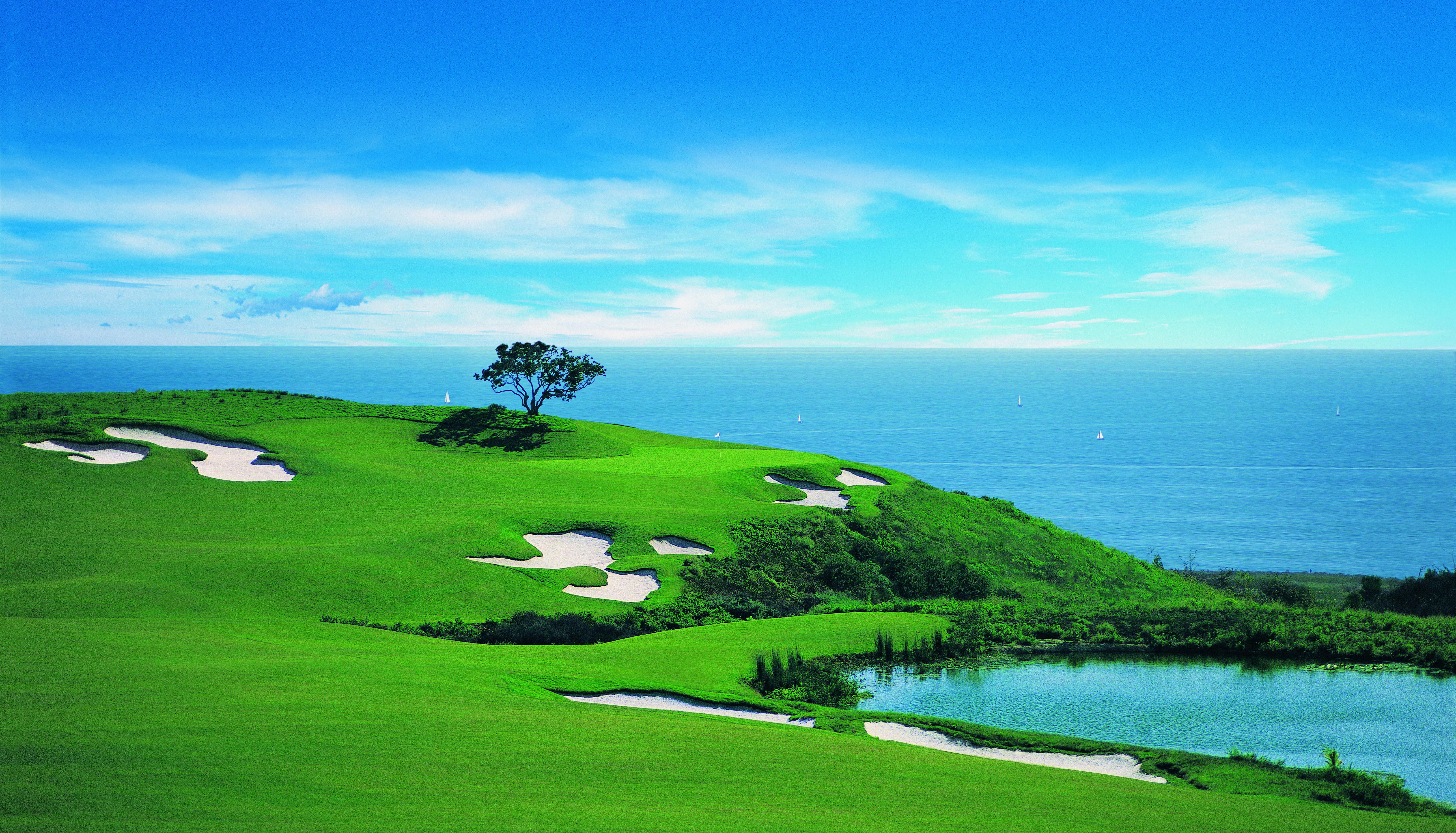 Golf Ocean North 17th Hole Pelican Hill