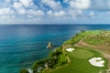 Hole No. 7 at Playa Grande offers some stunning views around the green.