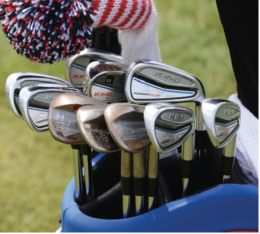 Cobra King Forged One Length irons Bryson DeChambeau's back-to-back wins at the Northern Trust and Dell Technologies Championship, the first two events of the FedEx Cup Playoffs, got more people talking about his unique approach to the game and his one-length irons.