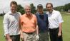 Tom Brady George Bush Bill Clinton Jim Nantz played golf together in 2006