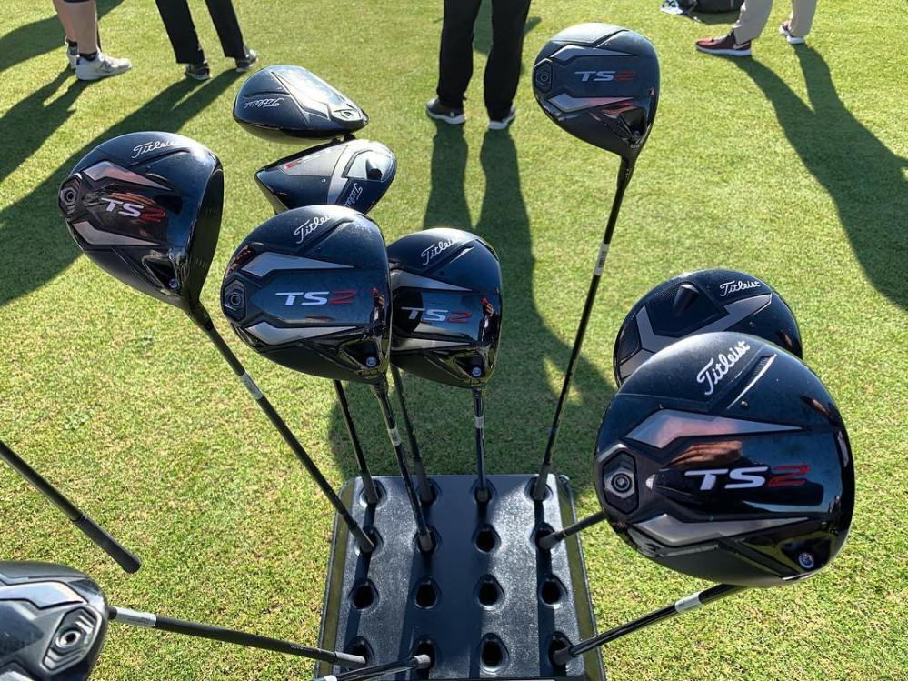 It a bouquet of @titleist drivers. #DemoDay