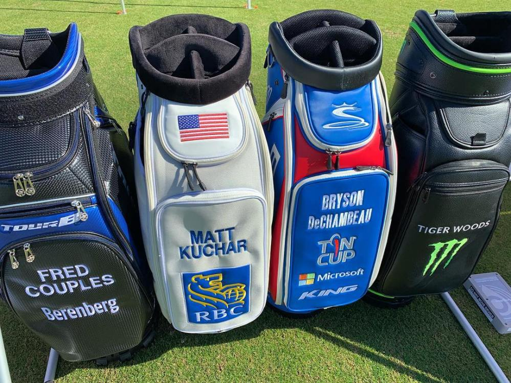 golfweekmag @bridgestonegolf staff player bags at #DemoDay David Dusek Golfweek