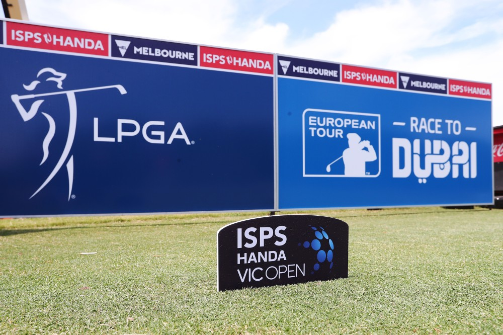 GEELONG, AUSTRALIA - FEBRUARY 06: A general view is seen on the 1st hole prior to the ISPS Handa Vic Open at 13th Beach Golf Club on February 06, 2019 in Geelong, Australia. (Photo by Michael Dodge/Getty Images)