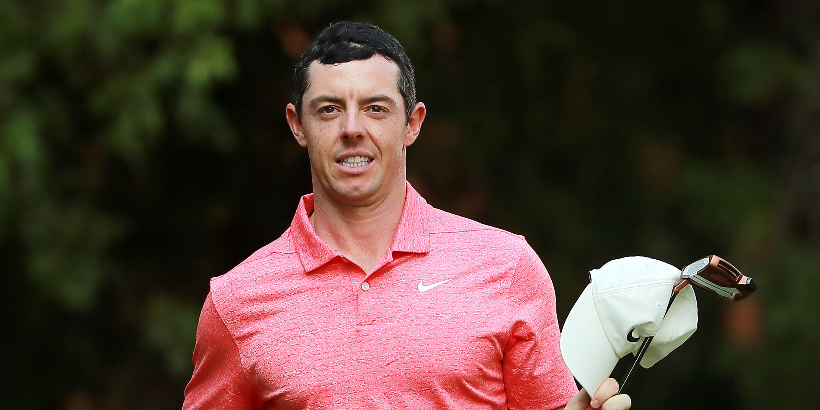 MEXICO CITY, MEXICO - FEBRUARY 24: Rory McIlroy of Northern Ireland reacts after finishing on the 18th green during the final round of World Golf Championships-Mexico Championship at Club de Golf Chapultepec on February 24, 2019 in Mexico City, Mexico. (Photo by Hector Vivas/Getty Images)