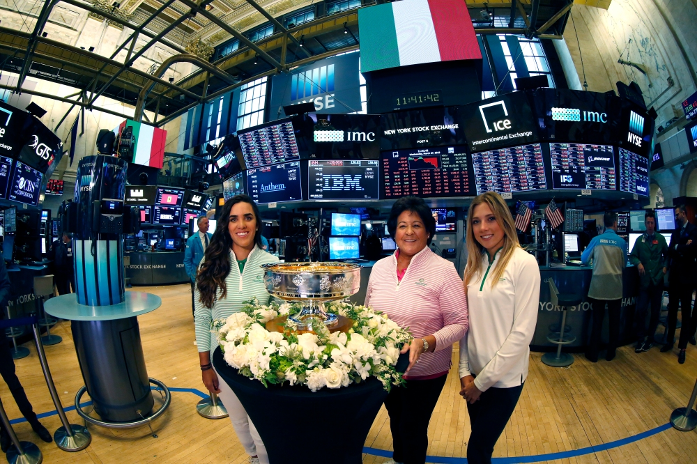 Maria Fassi, Nancy Lopez and Sierra Brooks