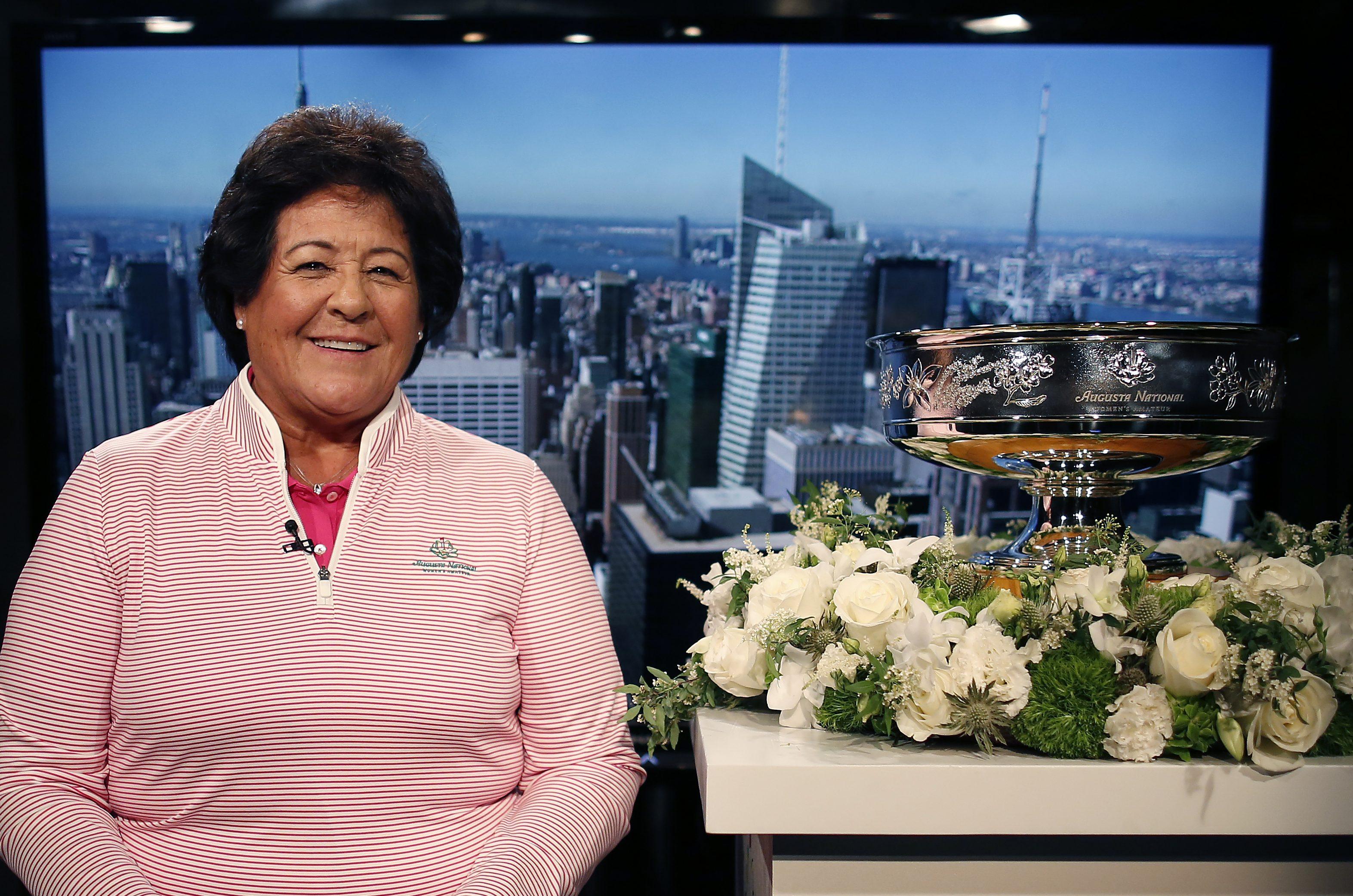 Nancy Lopez, Augusta National Women's Amateur press tour