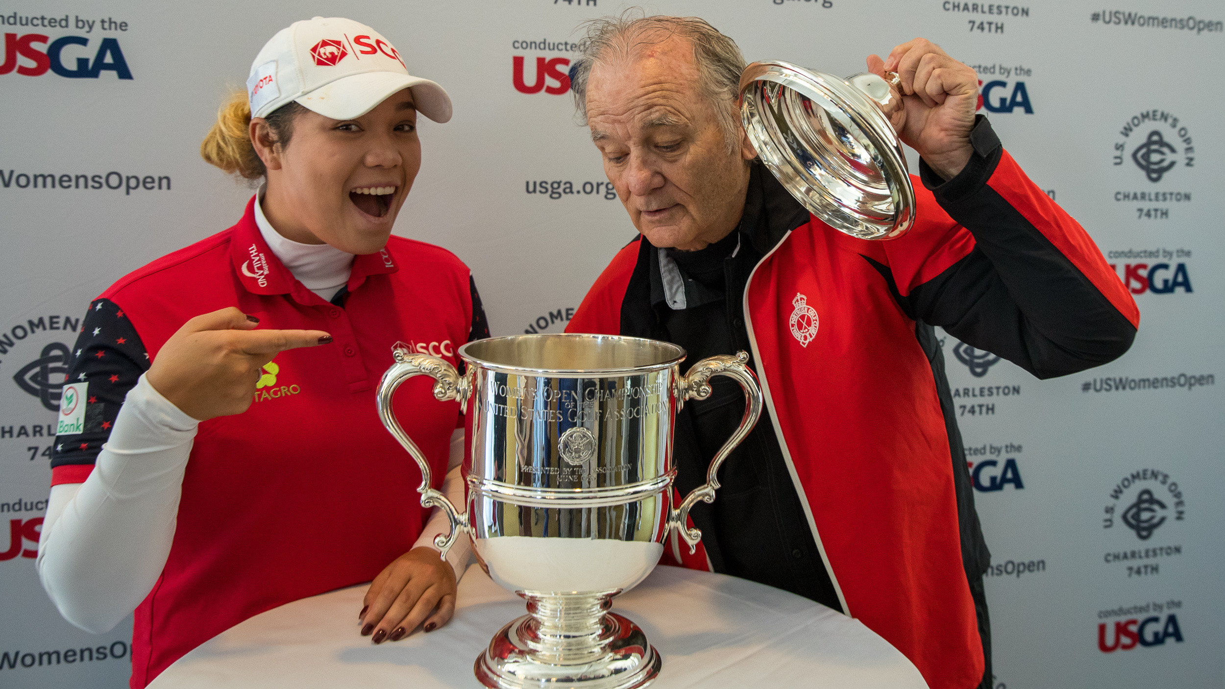 Bill Murray Ariya Jutanugarn United States Golf Association