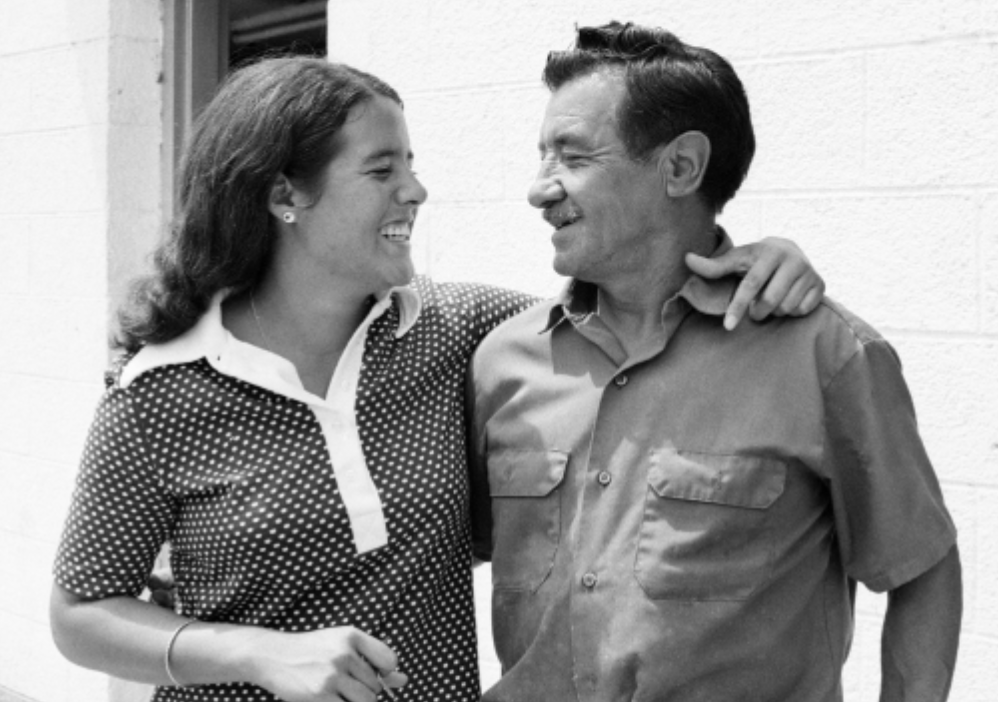 Lopez and her father Domingo