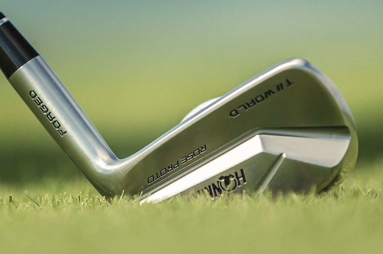 Honma T//World 747 Rose Proto MB irons