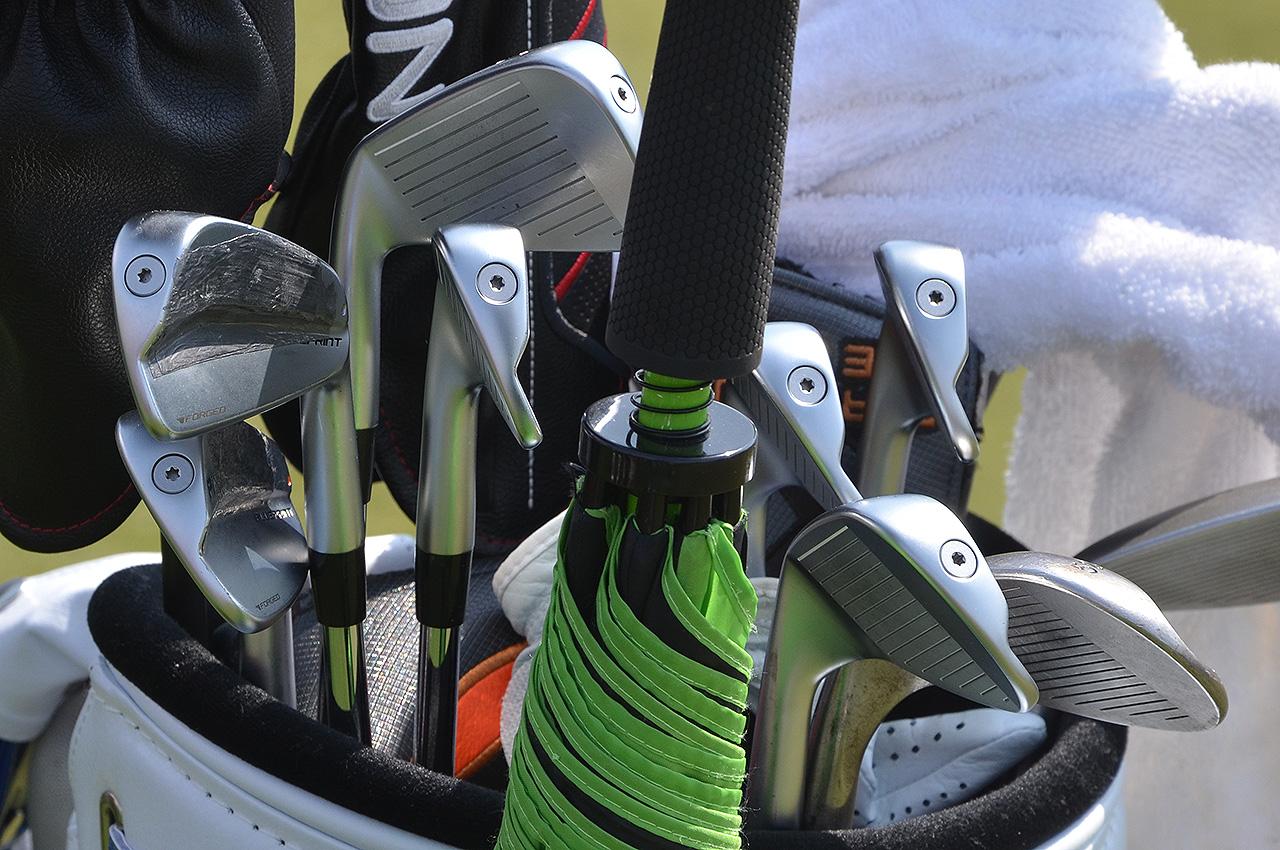 Jose Maria Olazabal's Ping irons
