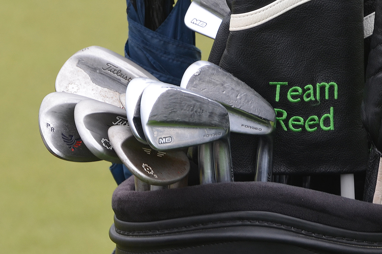 Patrick Reed's Titleist irons