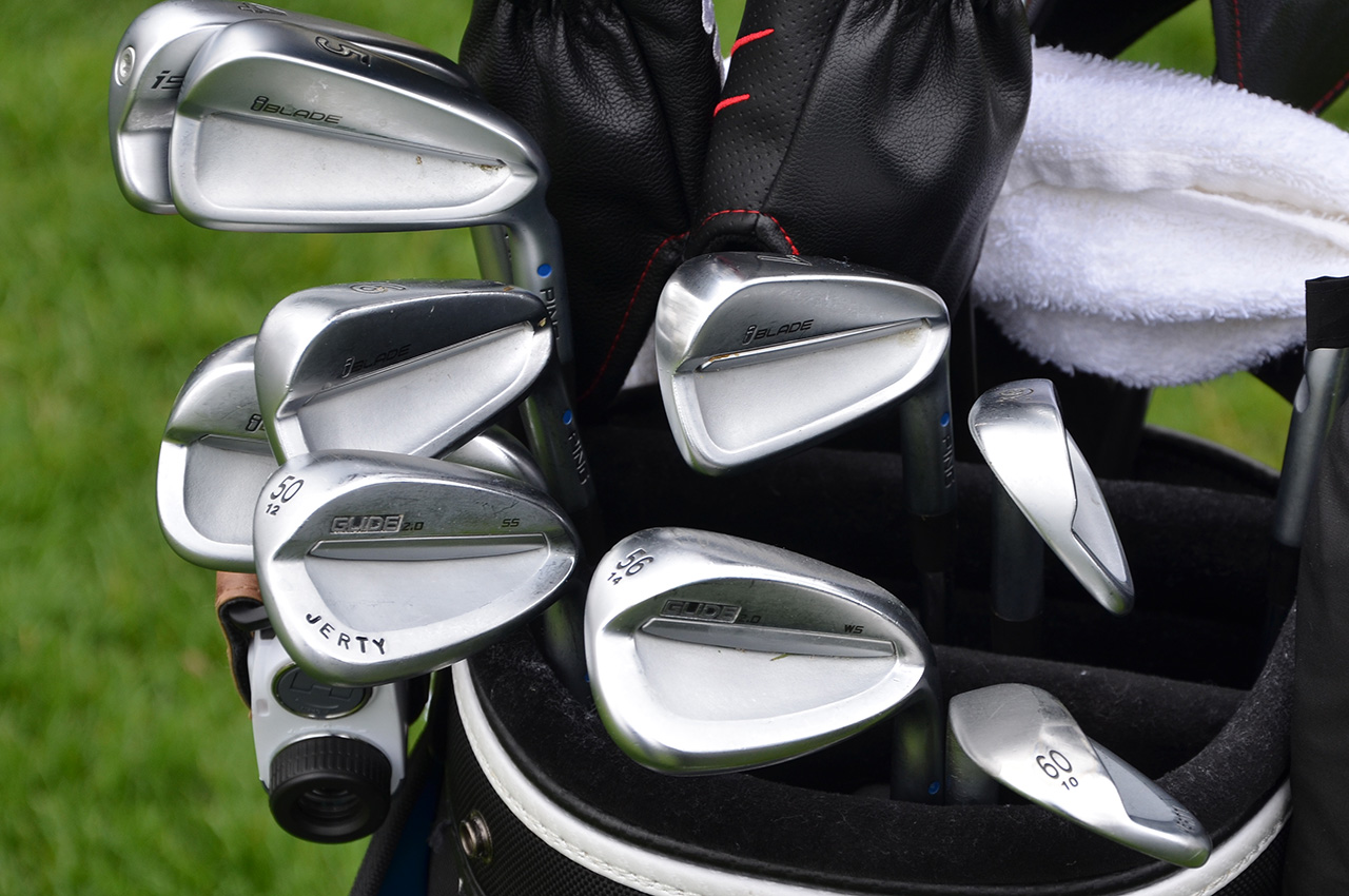 Marty Jertson's Ping golf equipment