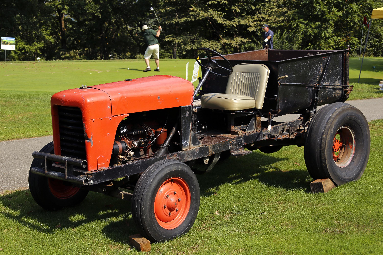 Arnold Palmer's orange tractor