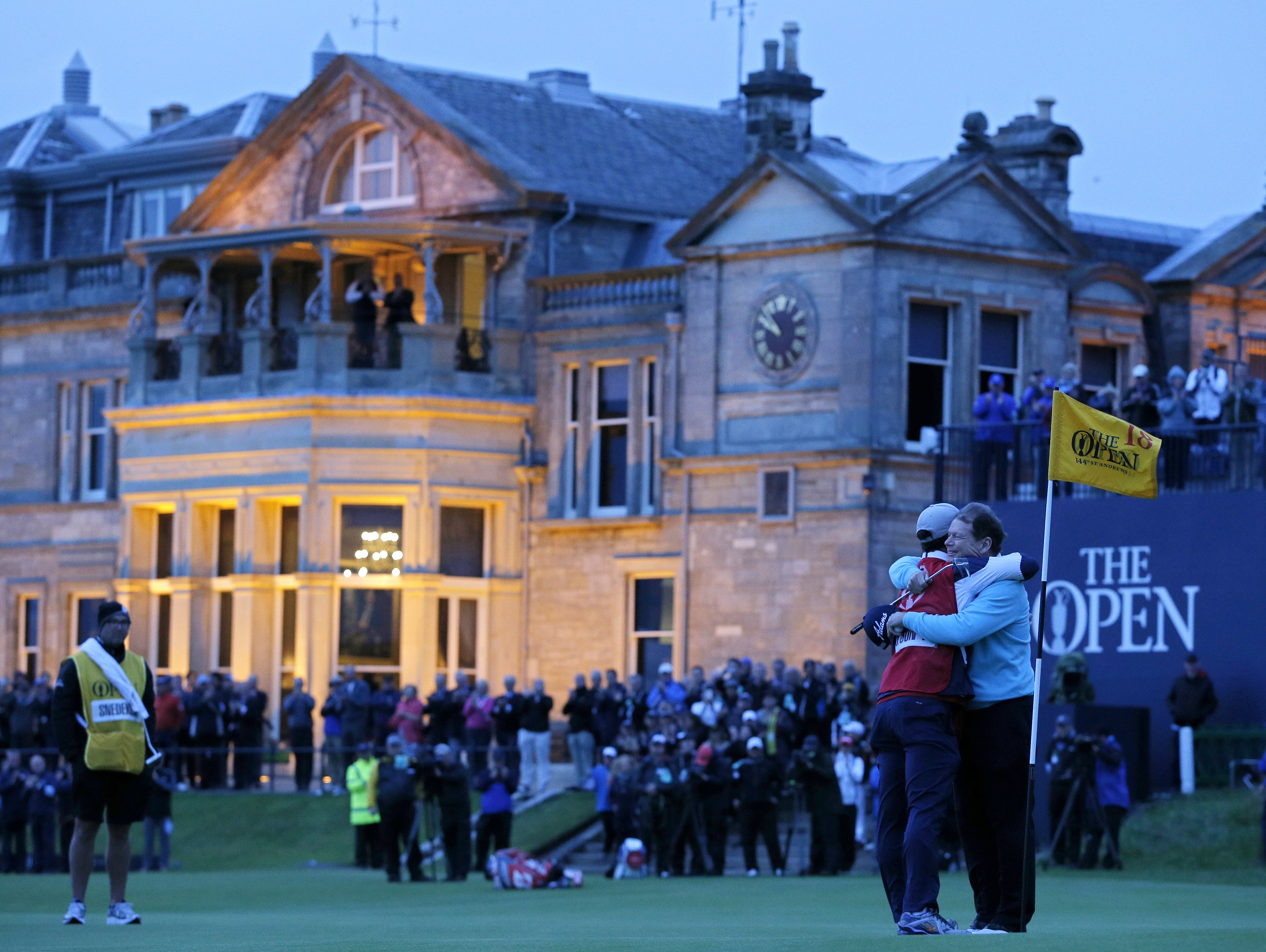 The clubhouse at the Old Course