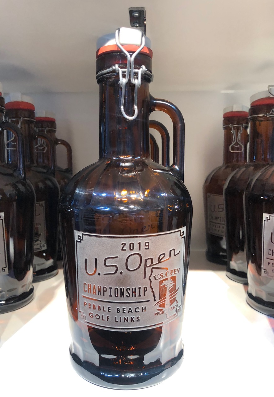 Signs By The Sea has branched out, with some fun cocktail glasses that hearken to the Crosby days and this year's Growler ($85)