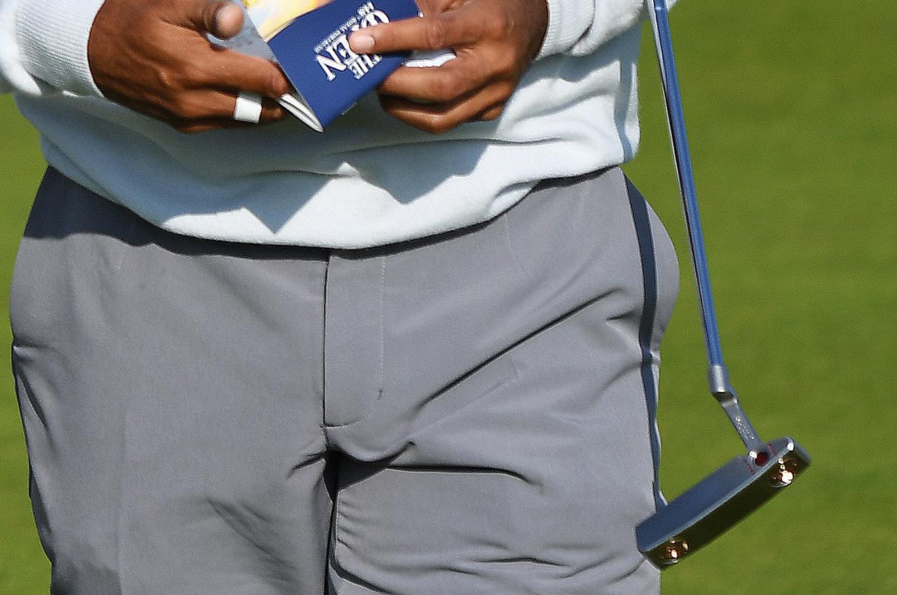 Tiger Woods Scotty Cameron Newport 2 prototype putter