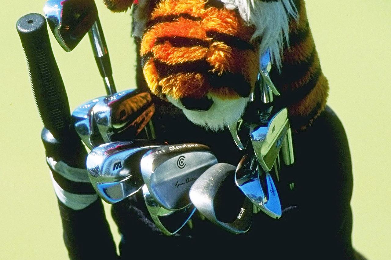 1996 Tiger Woods golf equipment