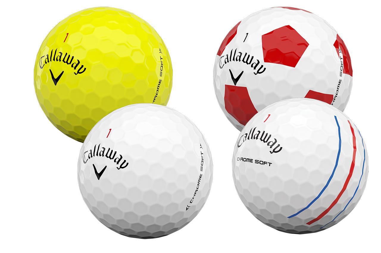 Callaway Chrome Soft 2020 balls
