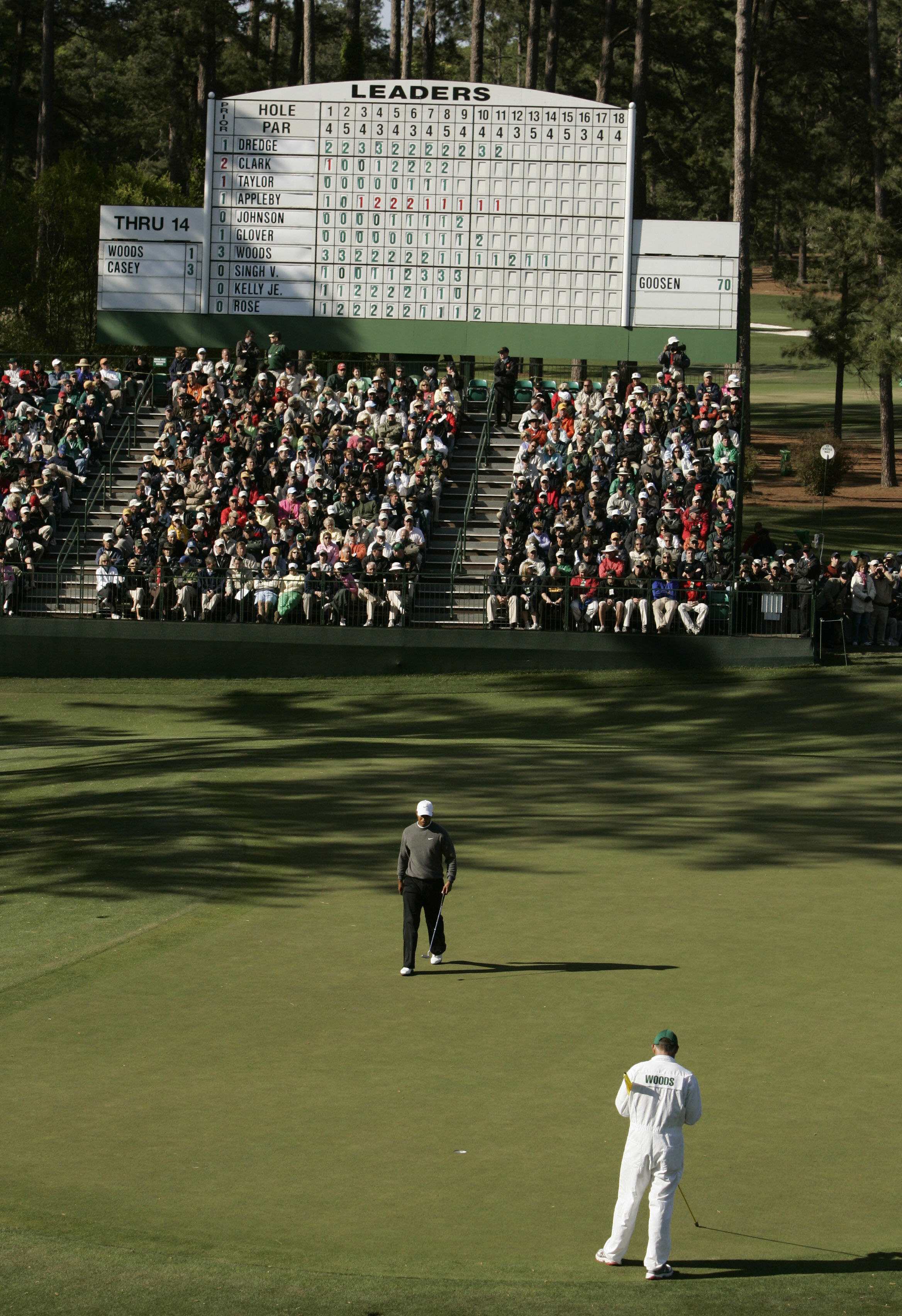 Tiger Woods Masters 2007: First time posting over-par score at Augusta